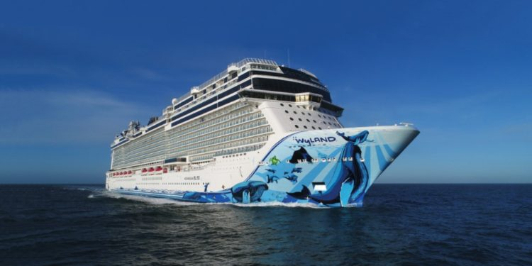 World's Hottest New Cruise Ship Norwegian Bliss Sets Sail